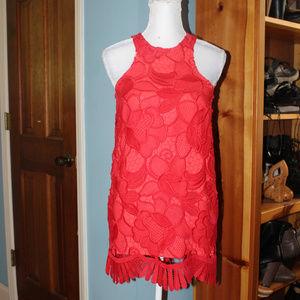 Lovers + Friends Red Caspian Shift Dress